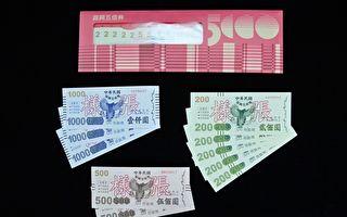紙本五倍券 已近400萬人預約