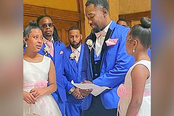 男子在婚禮當天向繼女提出收養請求