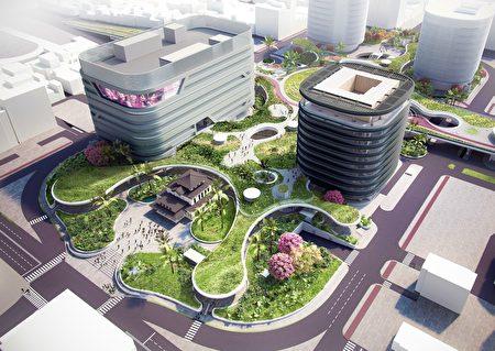 结合集体群众智慧与建筑设计专业的高雄车站,是充满绿意、体现城市愿景的立体生活空间。