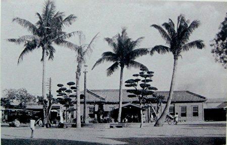 哈玛星高雄驿,后来的高雄港车站前身。
