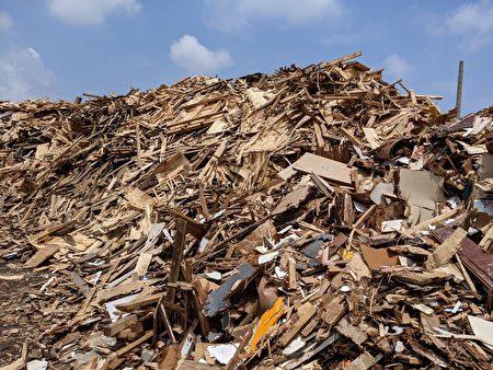 環保團體製造的堆肥。