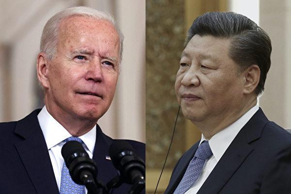 拜登:已和習近平就台灣問題進行交談