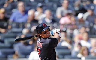 MLB培瑞茲獨居全壘打王 張育成1安打1打點