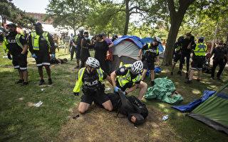多伦多市夏季强拆公园流民营地被投诉
