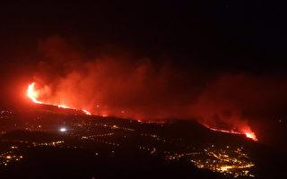組圖:西班牙火山持續噴發 至少六千人撤離