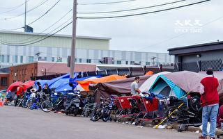 波士頓市長令拆除「美沙酮街」遊民帳篷