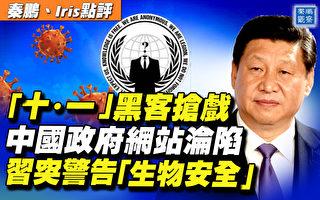 【秦鵬直播】十一中共網站遭襲 習警告生物安全