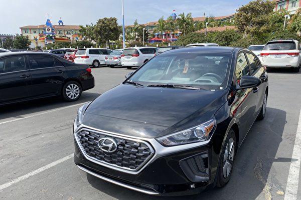夏日旅行好幫手 2021 Hyundai Ioniq Hybrid Blue