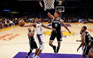 NBA季前賽開打 多名巨頭缺陣 湖人不敵籃網
