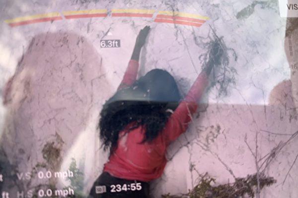 消防隊員援救峭壁上的「女人」 結局很意外