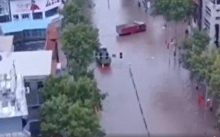 【一线采访】山西泄洪冲毁堤坝 村民逃难