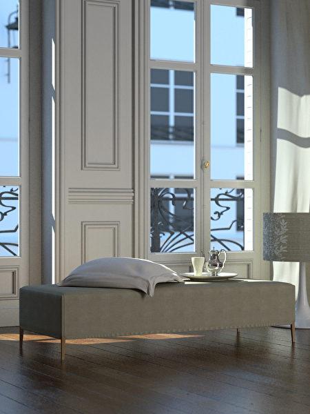 Classic,Parisian,Living,Room,(3d,Render),Shutterstock,客廳,法式