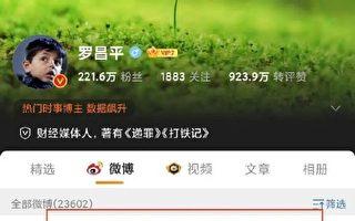 批評《長津湖》 大陸媒體人羅昌平遭刑拘