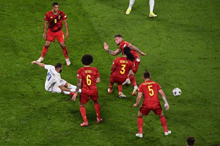 組圖:歐國聯半決賽 法國3:2勝比利時