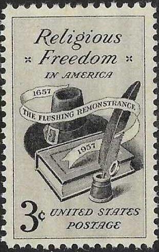 法拉盛是宗教自由的�l源地。