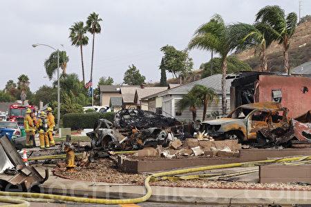 飛機墜毀聖地亞哥住宅 心臟病專家飛行員身亡