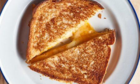 空氣炸鍋版奶酪三明治 金黃軟糯 絕不失手