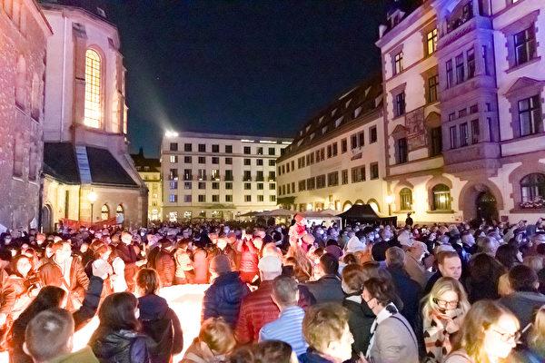 解體東德共產政權 萊比錫和平遊行32周年紀念