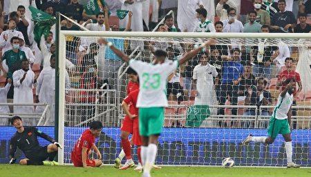 歷史首次 中國男足世預賽2:3負於沙特
