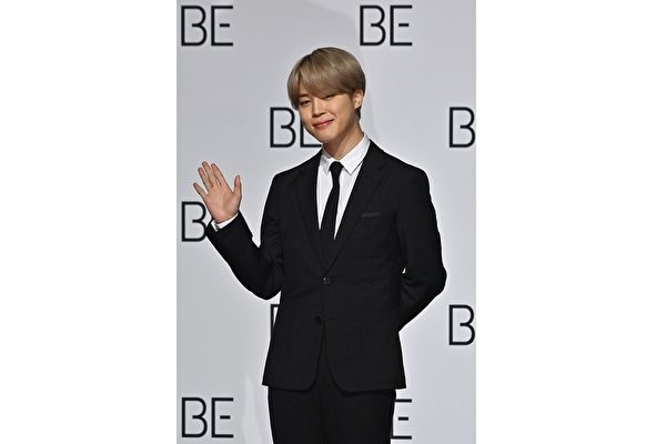 JIMIN智旻成高额捐款人 BTS成员送生日祝福