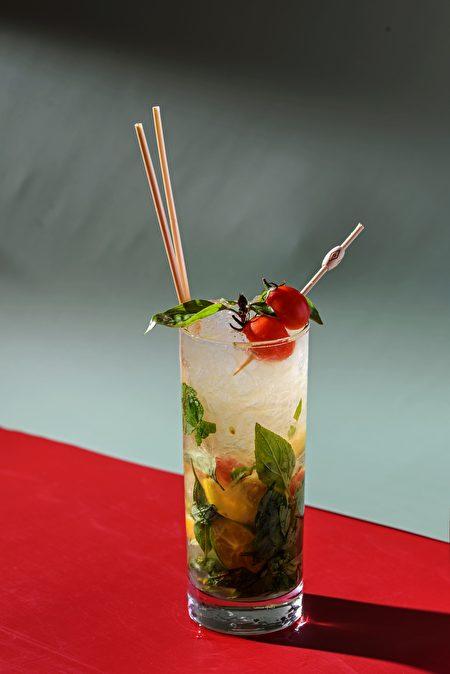 「祖靈之眼」以小米酒取代蘭姆酒,打造台版Mojito。
