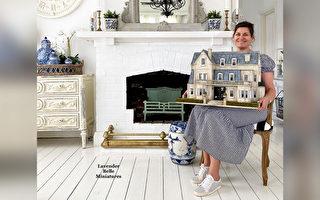 組圖:微型藝術家打造精緻的鄉村娃娃屋