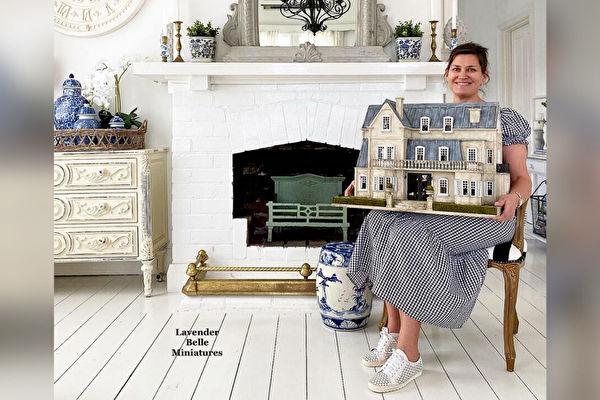 组图:微型艺术家打造精致的乡村娃娃屋