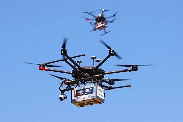 组图:以色列测试无人机 运送寿司及冰淇淋
