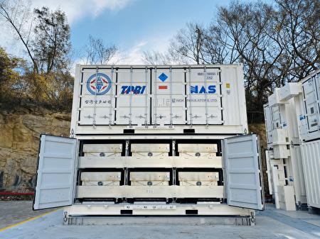 金門夏興電廠建置鋰電池及鈉硫電池兩套儲能示範系統。
