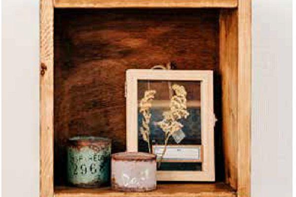 壁挂铁片DIY收纳置物架 让房间焕然一新