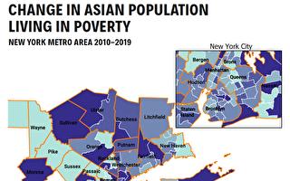 亚美联盟报告:贫困亚裔大批搬到纽约郊区