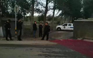 作業車帶泥上路遭罰 天津農戶被逼沿路鋪地毯
