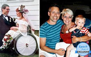"""""""我们彼此相依""""残疾女分享23年婚姻感悟"""