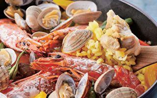 【異國美食】西班牙海鮮炊飯 湯頭海味十足
