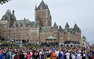 加國魁省推疫苗護照 逾千員工組人鏈靜默抗議