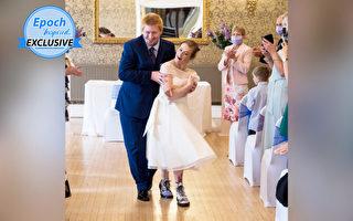 先天患脑瘫 29岁新娘实现自己走红毯梦想
