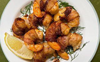 特脆培根虾卷 一道不可抗拒的开胃菜