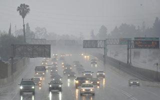 周一风暴或轻扫洛县 之后天气干燥温暖