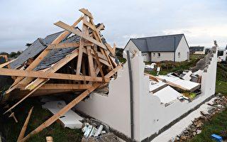 組圖:法國遭風暴襲擊 仍有4萬戶斷電