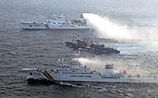 涉嫌非法捕撈 一中國漁船遭韓國扣押