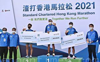 黃啟樂1秒險勝男子組 姚潔貞贏女子組冠軍