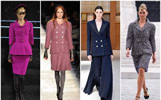 香奈儿小外套鲜明俐落风格 展现低调奢华