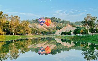 熱氣球月世界再升空 天候影響愛河場全取消