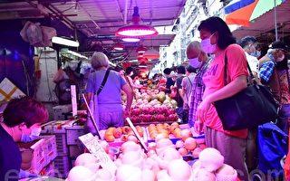 香港9月整体物价按年上涨1.4% 比8月升幅略放缓