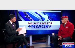 紐約市長候選人論壇  斯利瓦亞當斯政見迥異