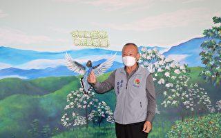 如油桐花般展现生命力 CRPD彩绘墙揭幕