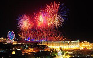 2022义大世界跨年 888秒烟火秀点亮南台湾