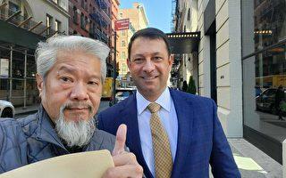 紐約華埠巡邏隊發起者 背書共和黨地檢候選人